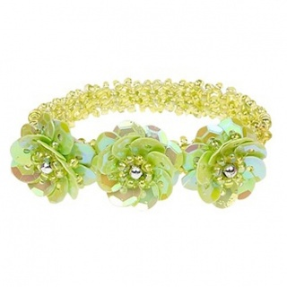 Armband pailletten Jessy - groen (Souza for Kids)