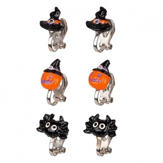 Halloween oorclips (3 paar) (Souza for Kids)