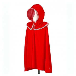 Luxe roodkapje cape (Souza for Kids)