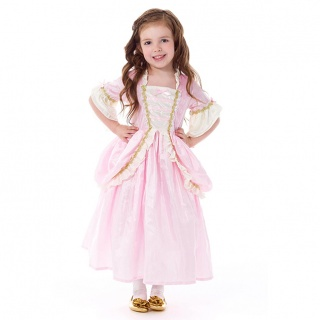 Prinsessenjurk Pink Parisian (Little Adventures)