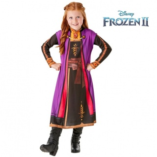 Basic Anna Frozen 2 jurk (Disney)