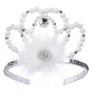 Kroon Tiara Liberty zilver (Rose & Romeo)