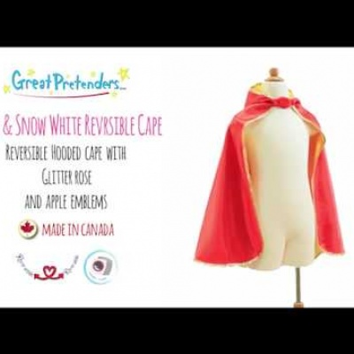 Belle Snow White Cape Made In Canada
